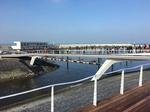 Der fast fertige Hafen von Cadzand Bad